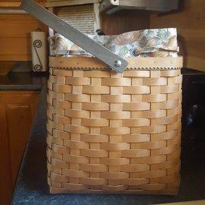 Longaberger Basket with Protector